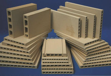 Advanced Ceramics of Cordierite Mullite Extruded Batt/Plate used for sanitary ware