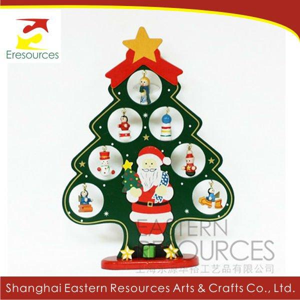 Arbol de navidad regalo de navidad de madera suministros - Arboles de navidad de madera ...