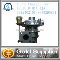 Brand New Turbo Charger for ISUZU D-MAX 4JA1T 8972402101/8973295881 with high quality and most competitive price.