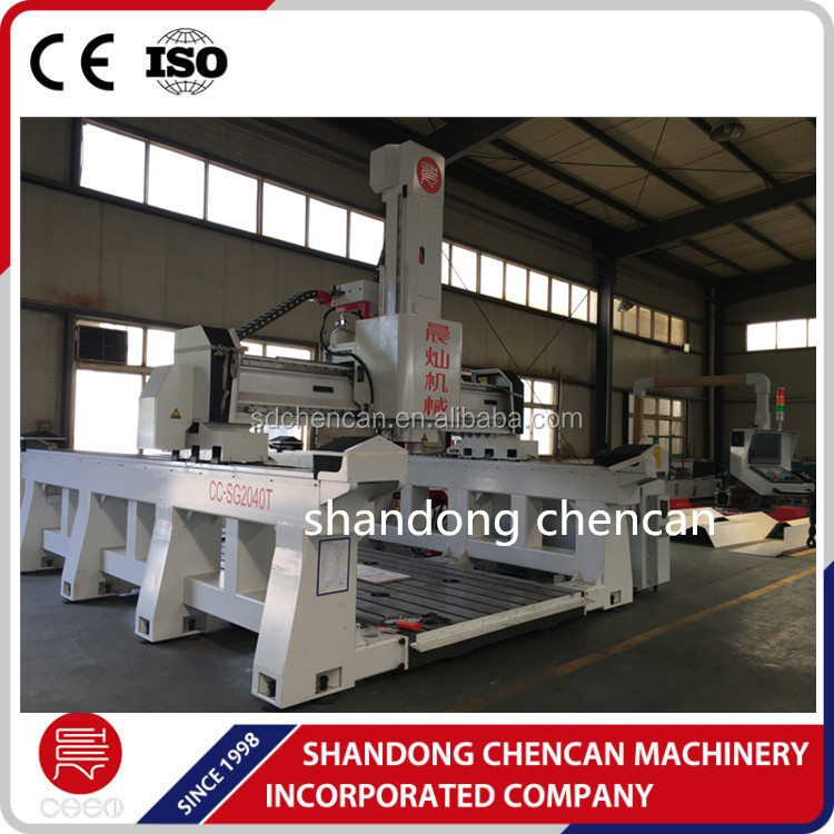 aluminium pattern milling cnc router 2040 for foundry casting
