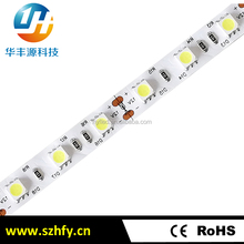High lumen 2700k 5050 smd led strip light 12V home decor led light strip 5050 with CE RoHS approval