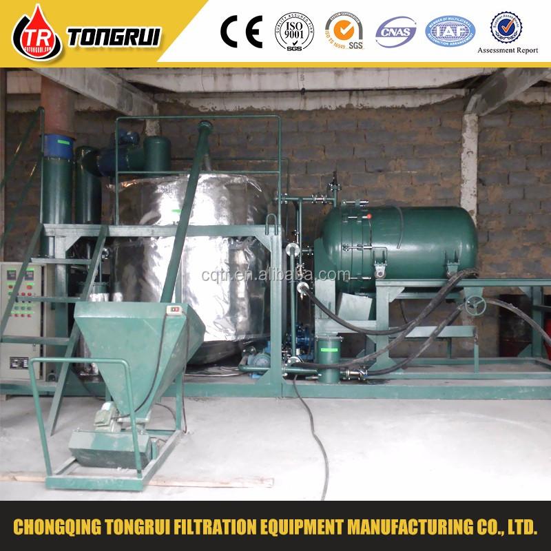 De alto vac o de aceite de motor usado reciclaje de for Used motor oil recycling process