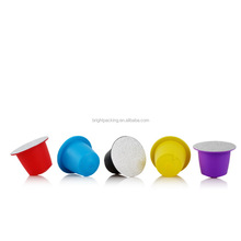 Colors Nespresso coffee pod