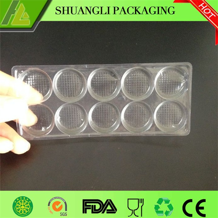 Plastic Milk Slice Packaging Tray