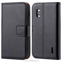 Genuine Cow Leather For LG Nexus 4 Mobile Phone Case Leather Flip Case Cover For LG Google Nexus4 E960