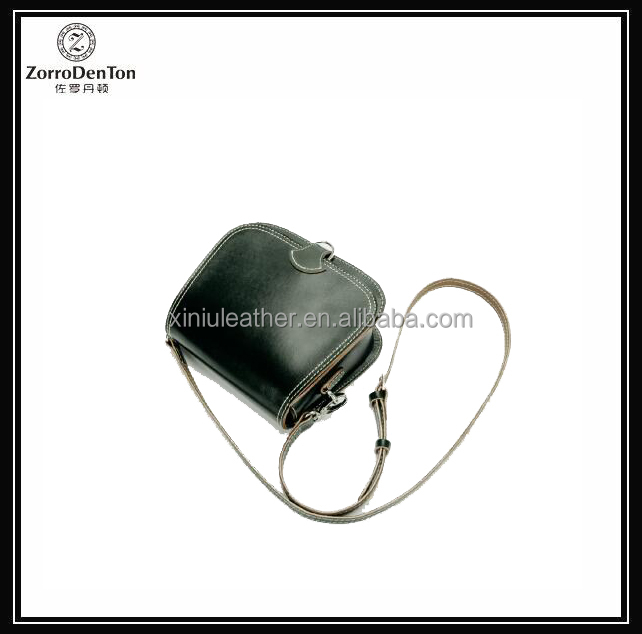 Vegetable tanned leather mini tote bag genuine leather handmade mini cross body bags for Ladies