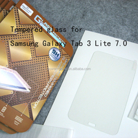 Top quality 9H Tempered Glass screen protector for Samsung Galaxy Tab 3 Lite 7.0 T110 T111