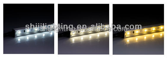 DMX led multi color lights DC 12V smd 5050 led bar backlight IP 66