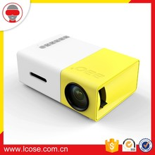 Lcose Home Theater Cinema Portable HD Mini LED LCD Projector