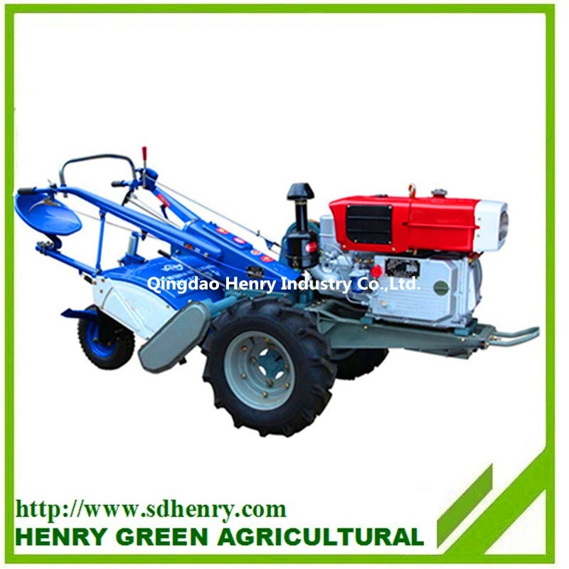 rotary plough walking tractor