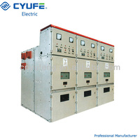 Metal clad enclosed high voltage switchgear