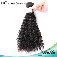 6a top grade mongolian afro kinky curly human hair full cuticle kinky hairpiece