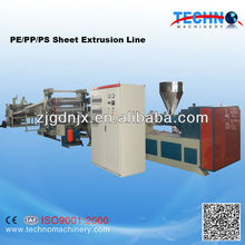 Plastic PE/PP/PS Sheet Production Line