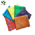 High quality biodegradable HDPE raschel knitted bag with drawstring