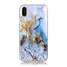 Hot Sell Most Popular Chinese Manufacturer Soft Plastic Rubber Silicone Shiny Marble Phone Case For Iphone X