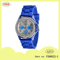 High quality sport waterproof wholesale silicone women watch