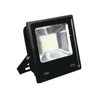 70W outdoor waterproof led floodlight aluminum led flood lamps