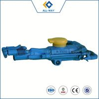 The African market Factory Direct Sale High Quality Compressed Air Rock Drilling Machine