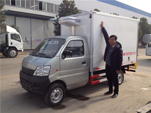 2tons Changan LHD/RHD japan used meat hook refrigerator truck for sale