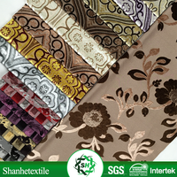 dubai printed embroidery fabric with handwork in polyester