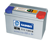 good working condition car battery 12v 120AH