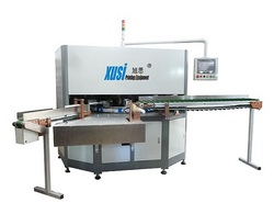 XS-SUV310 Automatic three color servo screen printing machine for bottles