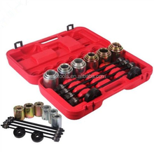 28Pcs Press and Pull Sleeve Kit Wheel Bearing Removal and Installation Tool