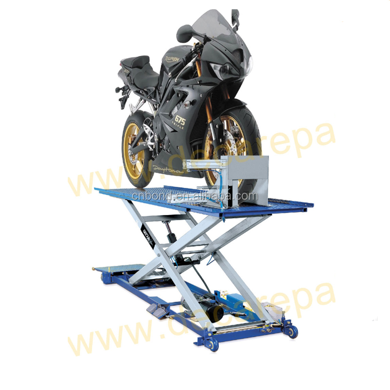 Motorcycle Lift Tool Scissor Jack Center Stand Table Lift