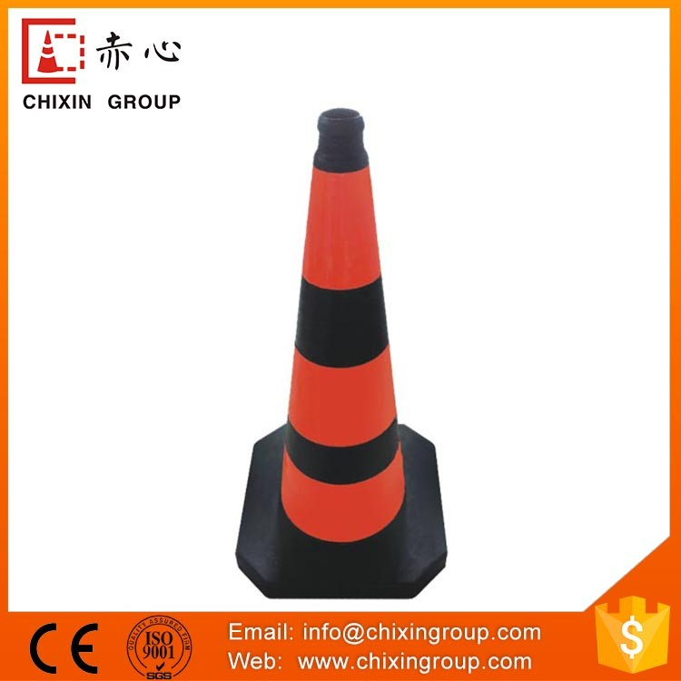 High Solid New Type Rubber Road Traffic Cone