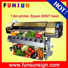Funsunjet FS-1802G 1.8m 6ft 1440dpi eco solvent plotter dx7