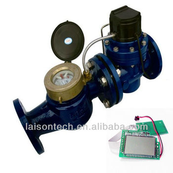RF Card Industry Prepaid Water Meter