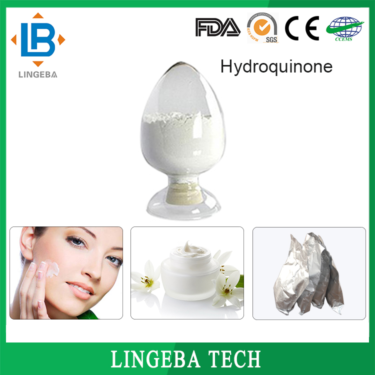Cosmetic Material Whitening Hydroquinone CAS 123-31-9