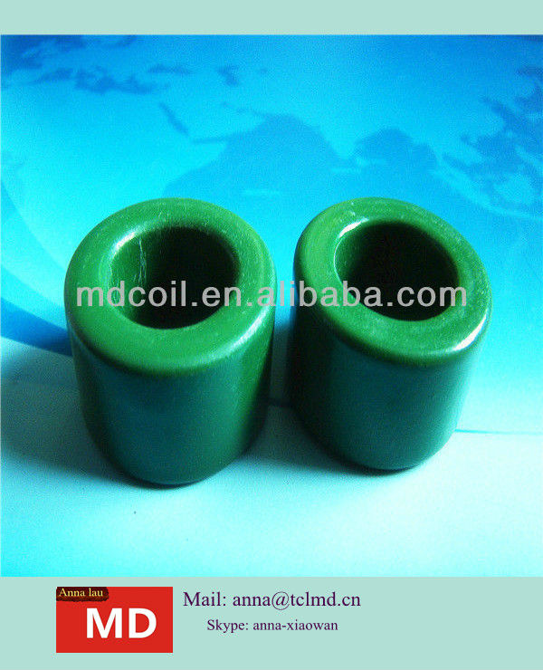 Iron toroid core green for Switching regulator inductors