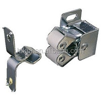 best selling china special custom stainless steel double roller catch,spring catch