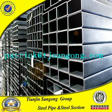 Direct factory supply Black Steel square rectangular steel pipe for Chemical Fertilizer
