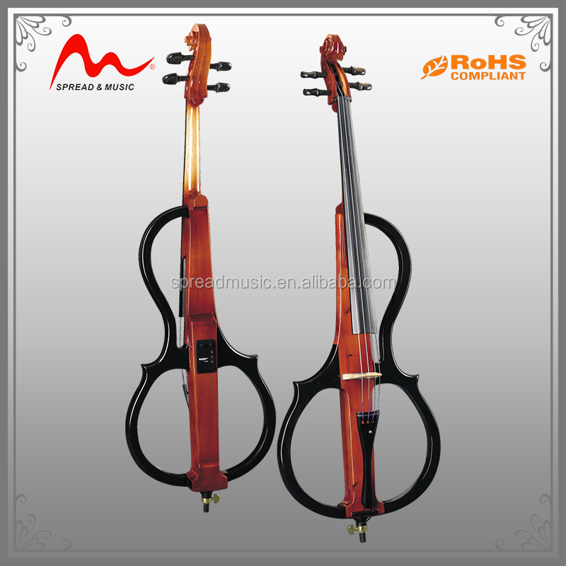 Good quality electric cello ECL-10/BK