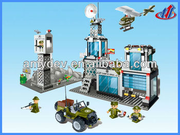 2013 Hot sale 560pcs National Defense Building Blocks set