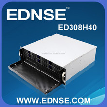 ED308H40-B Compact 3U Rackmount PC Server Case with 8 Bay Hot Swap