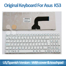 laptop with spanish keyboard K53 52N G53 72 51V 53 N53T X53 54H laptop keyboard for Asus A53s 52J Ja Jq Jv VG N71 US