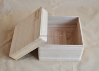 Cheap Nature environmental wood case packaging box