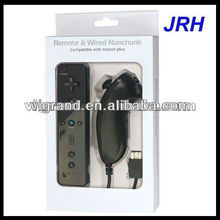 remote and nunchuk controller for wii with built-in motion plus