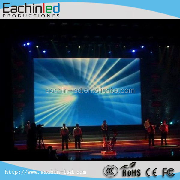 P4 indoor LED screen rental video factory price 4mm for company training