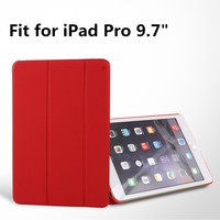 New Arrival Stand PU Case For iPad Pro 9.7 inch Smart Leather Case For iPad Pro 9.7