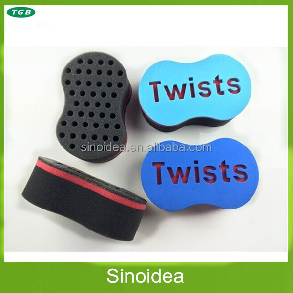 Strong Magic Barber Twists Sponge Foam Hair Brush For Dread Loc Afro Coil Curl