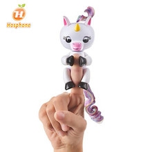 Finger Unicorn Toy Full function Interactive Smart Happy Unicorn Induction Electric pet Baby Kids Toy