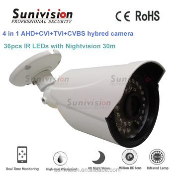 4 in 1 ahd cvi tvi cvbs 1080p hd cctv cheap home security camera systems