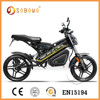 low power 48V Li battery kids electric motorcycle with EN15194