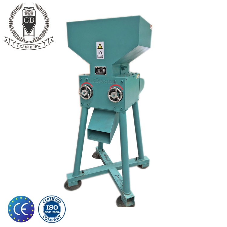 Double Roller Grain Mill Malt Mill For Brewery Equipment