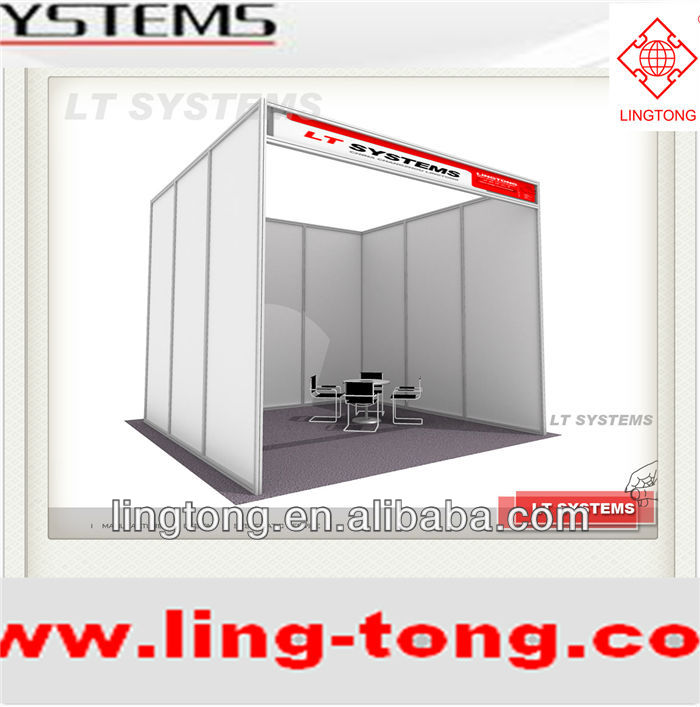 Aluminium Octanorm similar Customized Standard Exhibition Booth 3x3 System