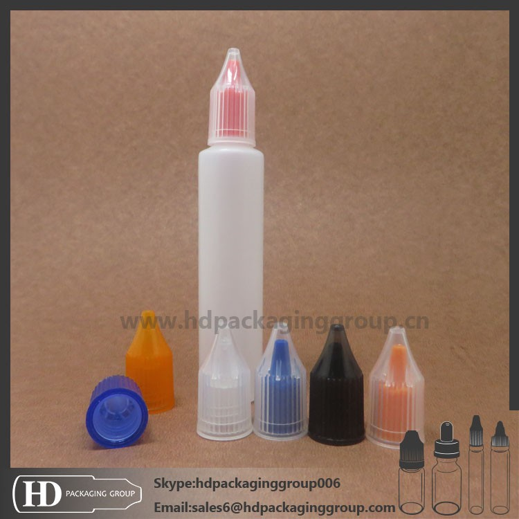 Pen bottle with screw cap 15ml plastic pe dropper bottle